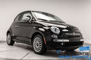 2015 Fiat 500C Lounge, CUIR 1600KM WOW