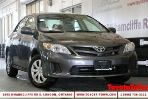 2013 Toyota Corolla CE HEATED SEATS & POWER WINDOWS