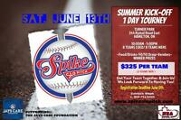 Spike Slo Pitch- 1 day summer kick off tournament