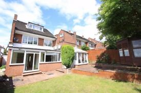 ** HUGE 4 OR 5 BED HOUSE - £2500 PCM - MASSIVE PRIVATE GARDEN AND PARKING **