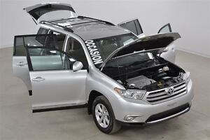 2013 Toyota Highlander 4WD V6 Camera de Recul+Demarreur a Distan