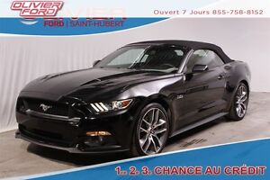 2015 Ford Mustang GT Premium RWD BAS KM 4 PASSAGERS CUIR CAMÉRA