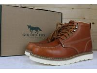 Golden Fox U.S. Import boots Brand New. Better reviews than Red Wings!