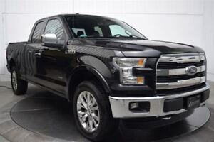 2015 Ford F-150 LARIAT EXT CAB 4X4 MAGS 20 CUIR NAVI