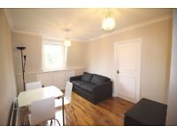 Private landlord * Newly pained * 2 bed compact, modern TOP floor flat * Wood floors * Near tube *