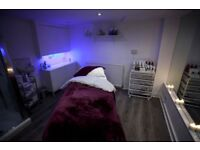 Beauty treatment rooms available for rent