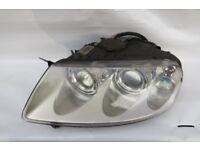 VW TOUAREG N/S HALOGEN HEADLAMP GENUINE PART 7L6 941 015 BM