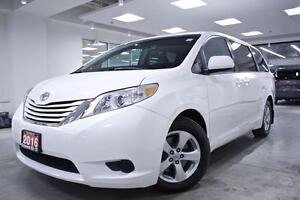 2016 Toyota Sienna LE, X-RENTAL, PWR SLIDERS, PWR DRIVER SEAT, B