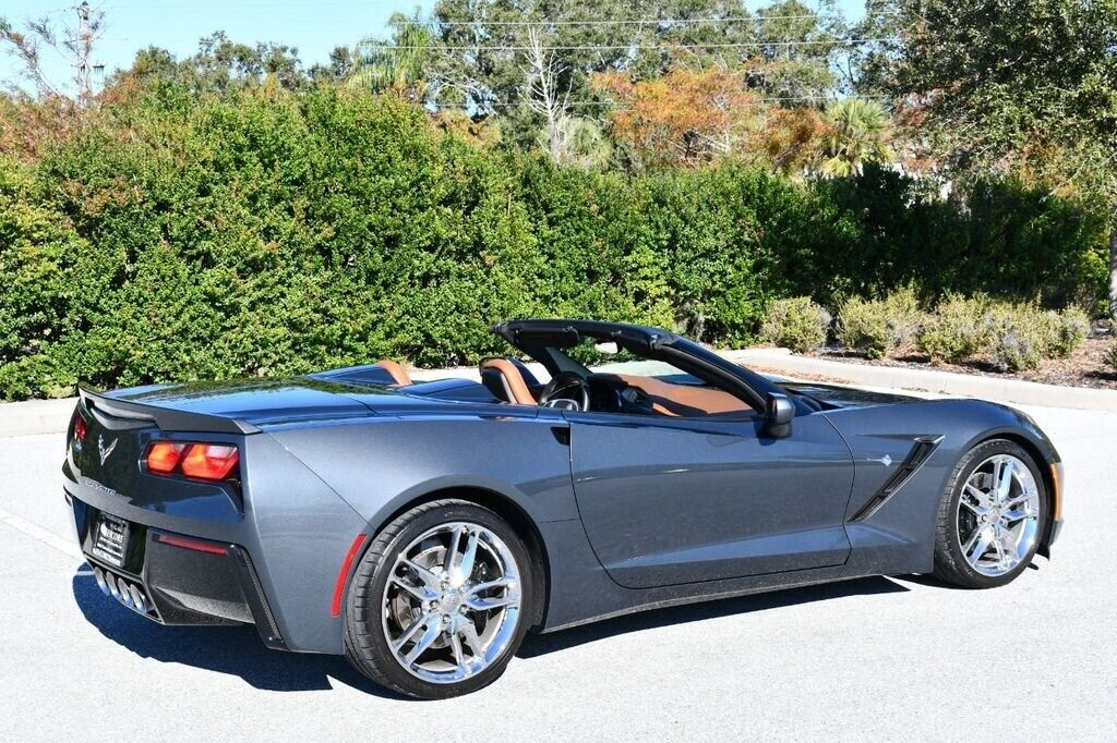 2014 Gray Chevrolet Corvette Convertible 3LT | C7 Corvette Photo 6