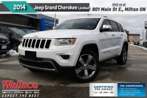 2014 Jeep Grand Cherokee LIMITED/HTD LTHR SEATS/HTD WHL/BACKUP C