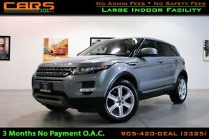 2013 Land Rover Range Rover Evoque Pure Premium| Navigation| Cle
