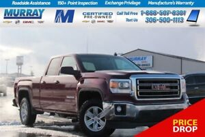 2014 GMC Sierra 1500 SLE Double Cab*REMOTE START,HEATED SEATS,RE