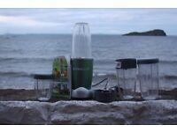 Nutribullet blender Set, including extra blades and extra large bottles