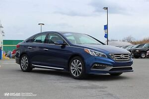 2015 Hyundai Sonata Sport! SUNROOF! LEATHER! WARRANTY