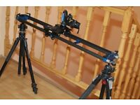 Dynamic Perception Stage One (Motorized Camera Dolly) Lightweight Carbon