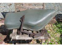 BSA Bantam Dual Seat and Footrests
