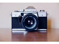 Praktica MTL3 film camera 35mm in case