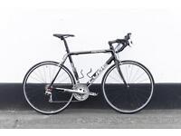 Cube racing bike carbon fork 56 frame size