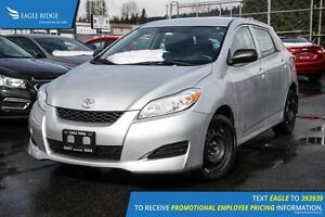 2009 Toyota Matrix Base AM/FM Radio and Air Conditioning