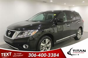 2016 Nissan Pathfinder S Platinum|DVD|Heated Leather|Nav