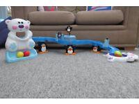 Fisher Price Go Baby Go sit to crawl Polar coaster