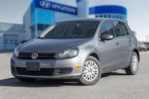 2012 Volkswagen Golf 2.5L Trendline (A6)