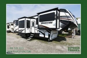 2018 GRAND DESIGN Momentum 376TH Toy Hauler 5th Wheel