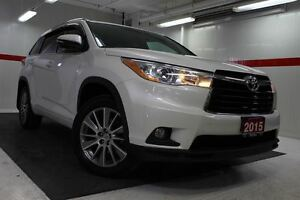 2015 Toyota Highlander XLE AWD Heated Lthr Nav Sunroof Btooth BU