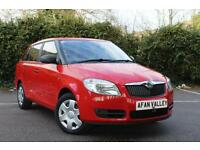 SKODA FABIA 1.2 12V 1 5dr **1 LADY OWNER++FULL SERVICE HISTORY** (red) 2009