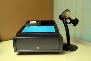 Wisetronic Shop all in one point of sale system invoicing inventory control barcode label printing digital scale