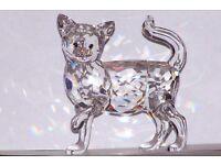 RETIRED SWAROVSKI Crystal - Mum Cat & Kitten