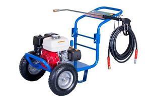 Honda Powered - Bertolini Pressure Washer WBG-2500H
