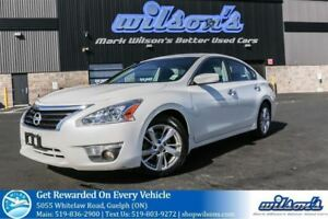 2013 Nissan Altima 2.5 SV SUNROOF! HEATED SEATS! PUSH BUTTON STA