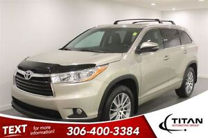 2014 Toyota Highlander XLE|AWD|Nav|Back-up Cam|Sunroof