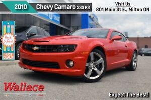 2010 Chevrolet Camaro 2SS/RS/V8/1-OWNER/CLEAN HSTRY/SUNROOF/HTD