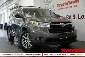 2014 Toyota Highlander 8 PASSENGER XLE LEATHER & NAVIGATION