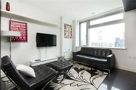 Stunning Studio Apartment in New Providence Wharf with Gym and Swimming Pool!!