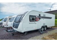Sterling Eccles Wayfarer - 2014 - 4 Berth, Island Bed, Rear Bathroom, Tag Axle, One Owner