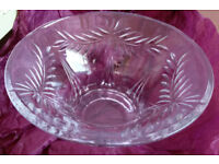 """*New* Galway Crystal Bowl – Harmony 9"""" Flared Bowl £25"""