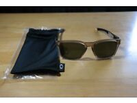 Oakley Catalyst Matte Sepia Sunglasses.