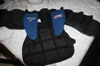$20.00Goalie chest pad and$20.00shorts