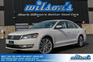 2015 Volkswagen Passat COMFORTLINE SPORT! LEATHER! SUNROOF! REAR