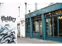 FULL TIME WAITING STAFF REQUIRED AT THE MUDDLERS CLUB BELFAST
