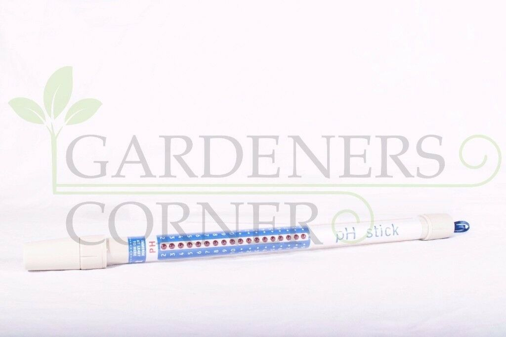 Hydroponics PH Stick Nutrient Test Meter Pen Tester Truncheon not blue lab UK