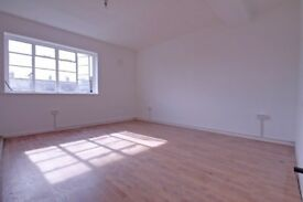 Large newly refurbished two double bedroom apartment located within mins of of good transport links