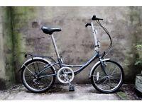 RIDGEBACK RENDEZVOUS, shopper folding bike, 6 speed