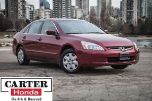 2004 Honda Accord LX-G, local BC vehicle
