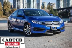 2016 Honda Civic EX + LOCAL + NO ACCIDENTS + SUNROOF + CERTIFIED