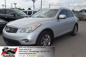 2008 Infiniti EX35 Luxury Pkg Navigation 360 Camera No Accident