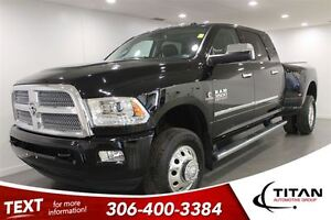 2015 Ram 3500 Auto| Laramie Longhorn Limited Dually| 4X4| Low Km